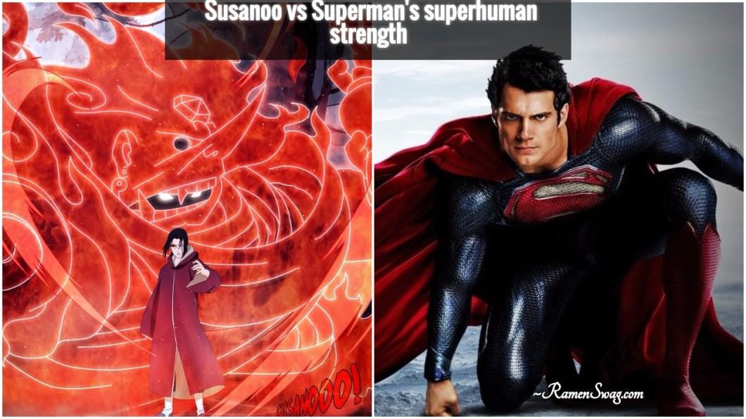 Itachi vs superman