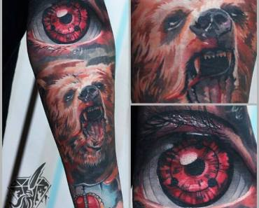 sharingan tattoo