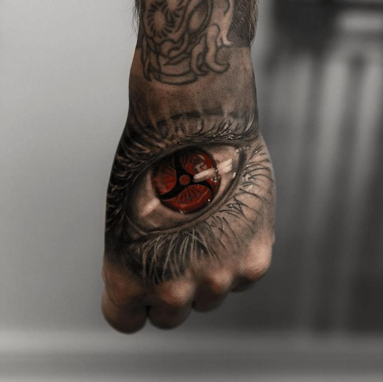 naruto sharingan tattoo sleeve