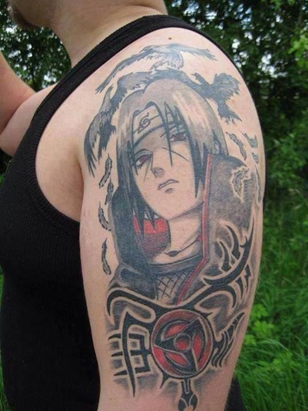 13 Sharingan Tattoos To Absolutely Die For The Ramenswag