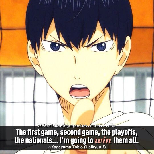 haikyuu quotes