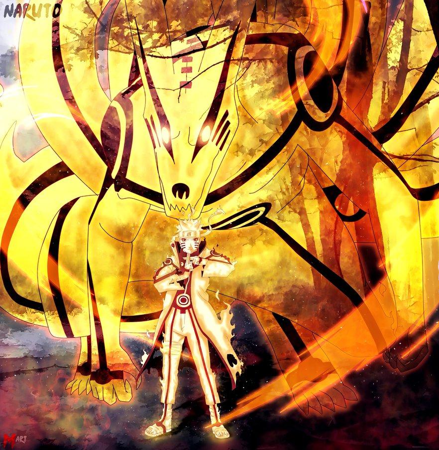 naruto and kurama wallpaper