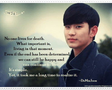 romantic kdrama quotes