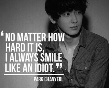 chanyeol quotes
