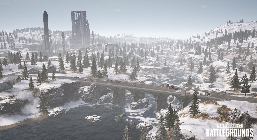 pubg mobile vikendi snow map wallpaper