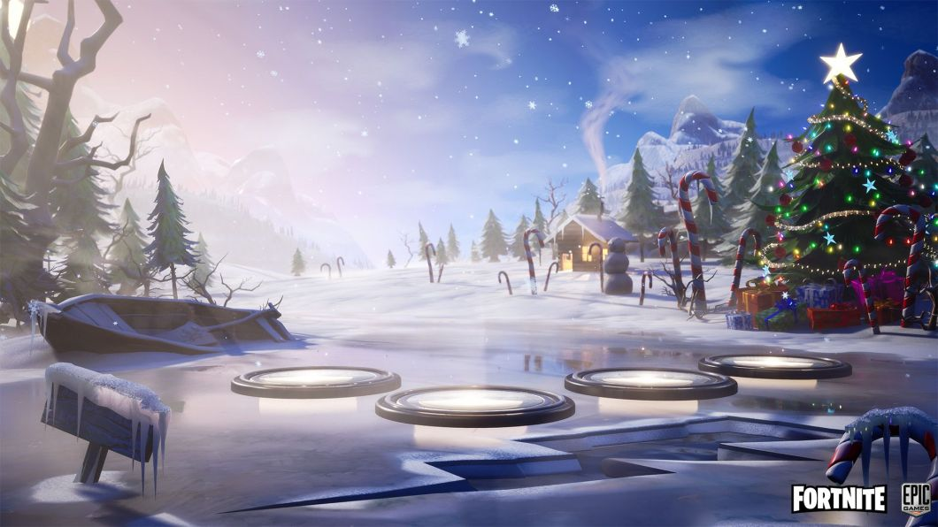 13 Fortnite Christmas Wallpaper For Iphone Android And Desktop
