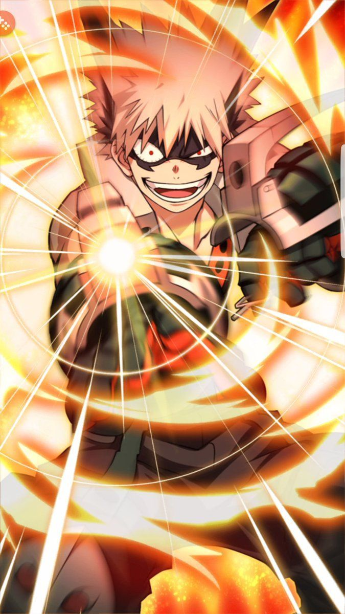 bakugo wallpaper