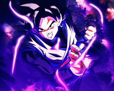 black goku wallpaper 4k