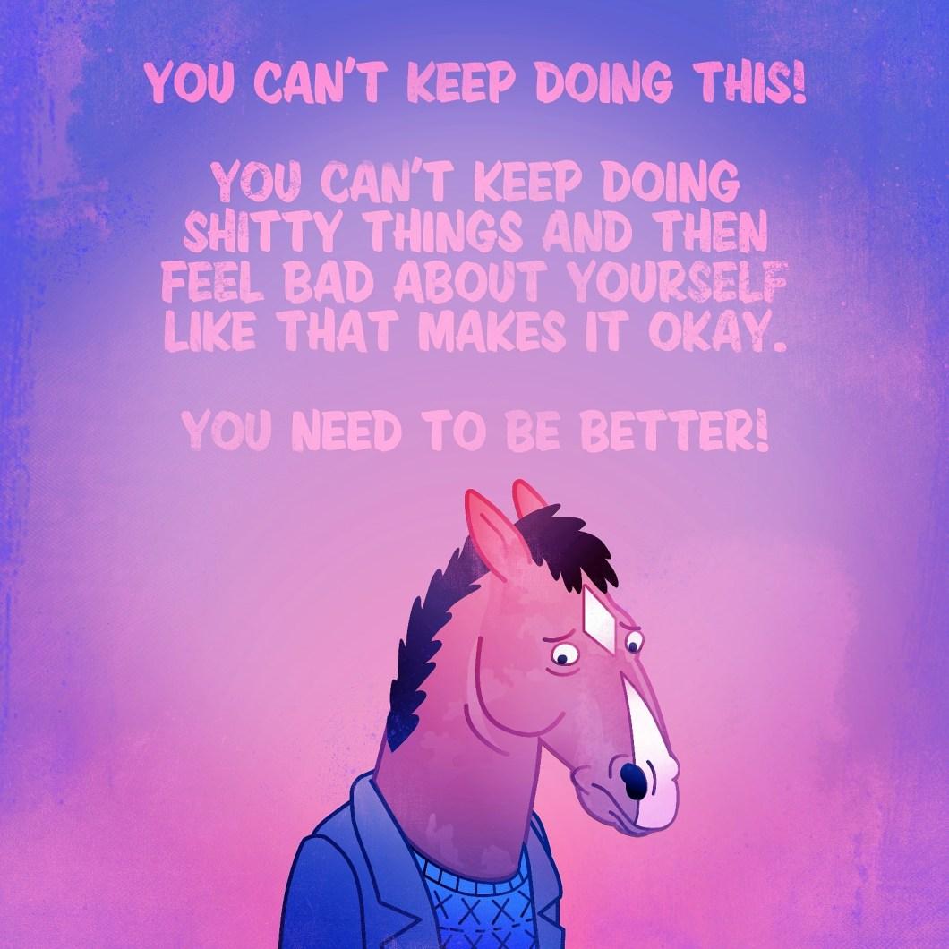 sad bojack horseman quotes