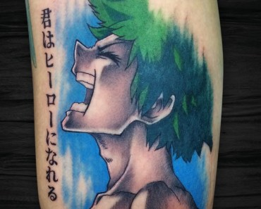 boku no hero academia tattoo
