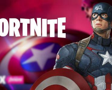 Fortnite Captain America Wallpapers