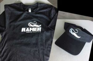 Ramer Fishing Charters shirts and caps