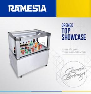 Opened Top Showcase