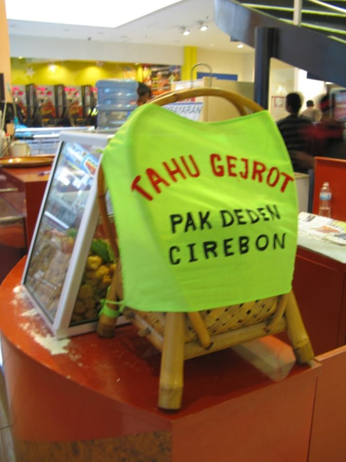 Tahu Gejrot Cirebon