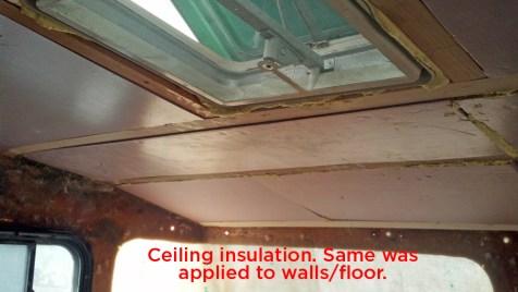 New insulation!