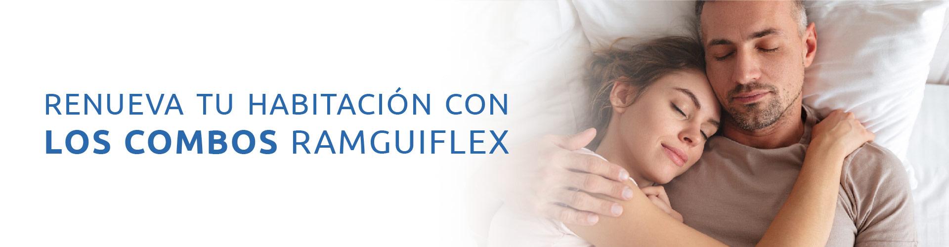 Promoción en Combos Ramguiflex: Colchones, Almohadas y Base Camas con la Mejor Calidad y el Mejor Precio del Mercado