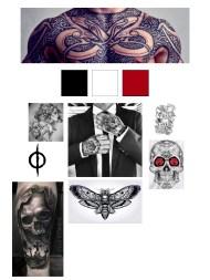 Johnny Tattoo mood board