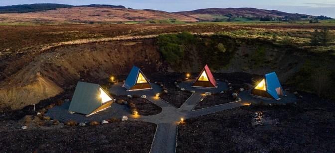 """Un po' di lusso selvaggio: dormire sotto le stelle """"all'irlandese""""  Image of Un po' di lusso selvaggio: dormire sotto le stelle """"all'irlandese"""""""