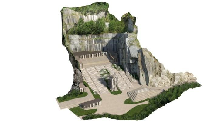 """""""Tones on the Stones"""", fino a settembre eventi e visioni in un teatro di pietra ai piedi delle Alpi  Image of """"Tones on the Stones"""", fino a settembre eventi e visioni in un teatro di pietra ai piedi delle Alpi"""