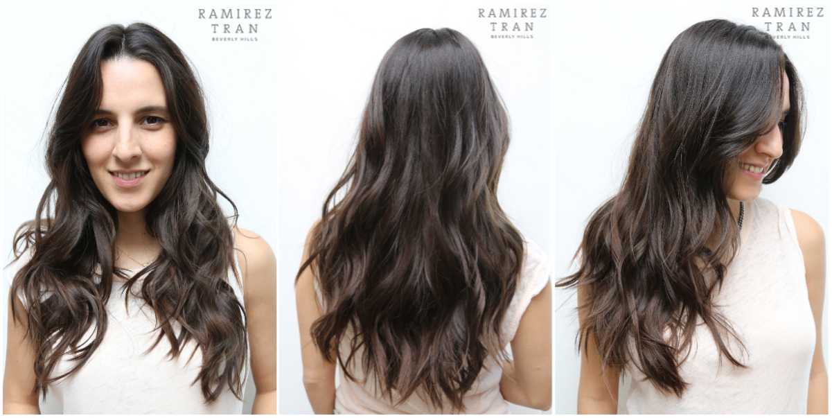 SEAMLESS LAYERS AND EASY WAVES DONE THE SALON IN LA