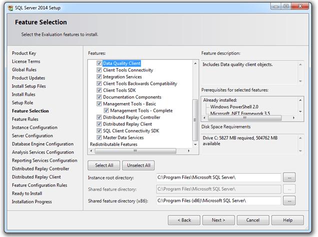 התקנת SQL SERVER 2014 - שלב 6