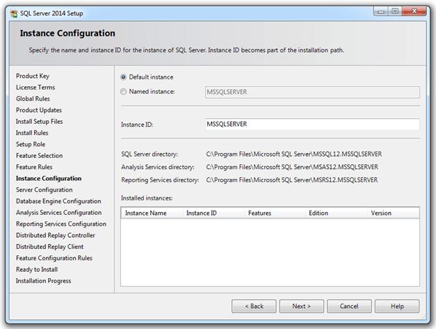 התקנת SQL SERVER 2014 - שלב 7