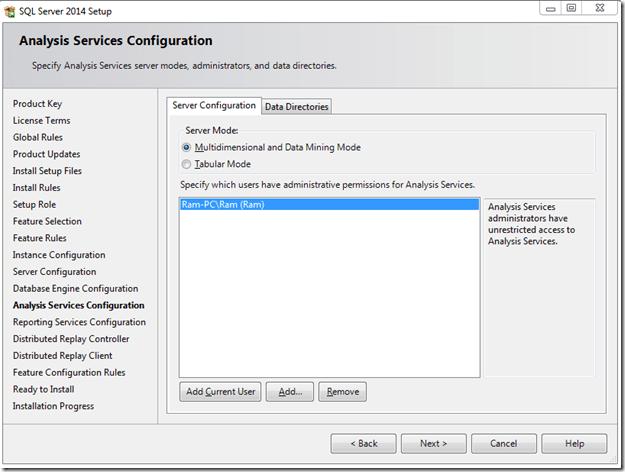 התקנת SQL SERVER 2014 - שלב 10