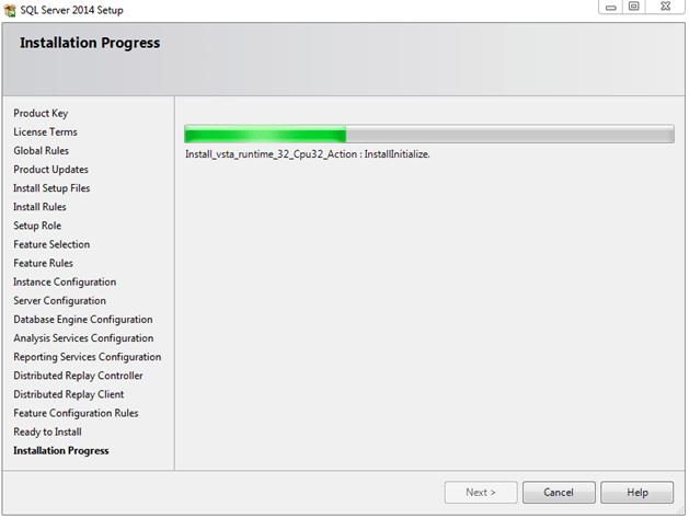התקנת SQL SERVER 2014 - שלב 14