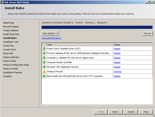 installing tabular model step 3