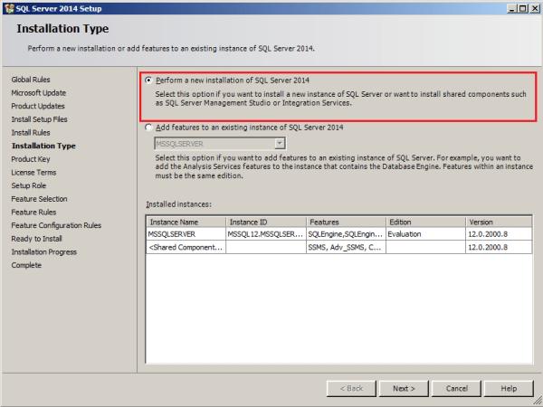 installing tabular model step 4
