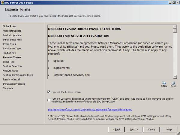 installing tabular model step 6