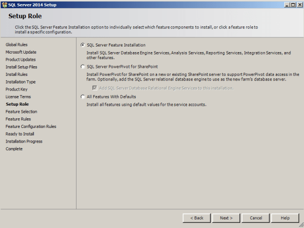 installing tabular model step 7