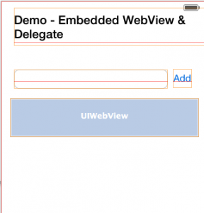Framework for interacting with embedded WebView in iOS application (2/2)