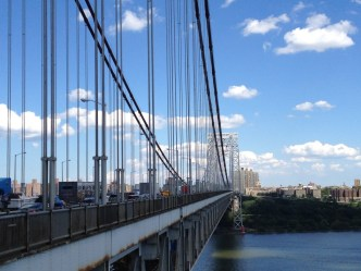George Washington Bridge NYC View
