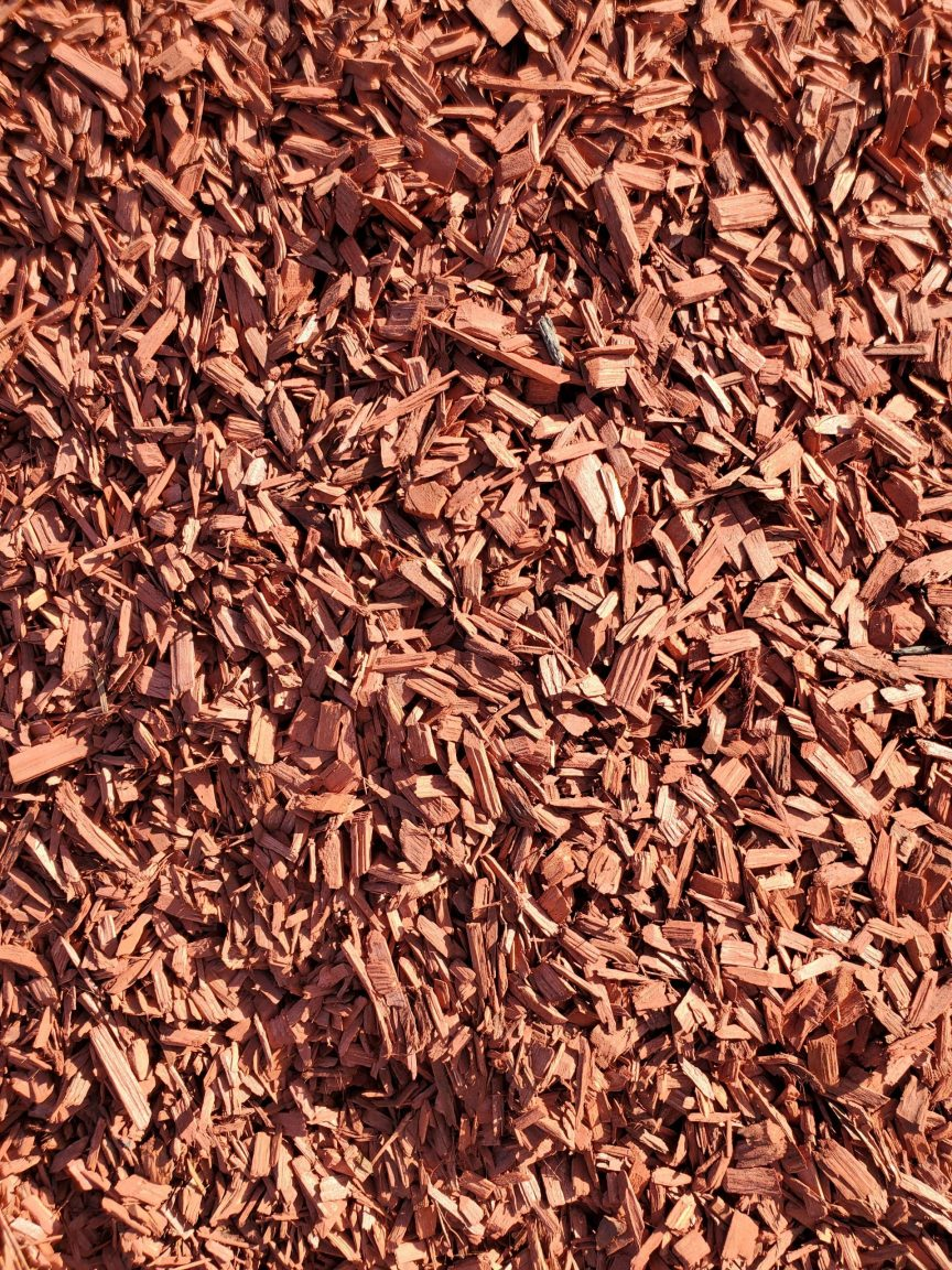 Soil and Ammendments - Red Deco Bark