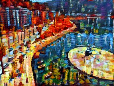 Java Art Generation with Neural Style Transfer