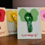 DIY | Uitnodigingen met olifanten