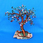 wire-tree-sculpture-with-green-agate-rose-quartz-cherry-quartz-and-red-coral