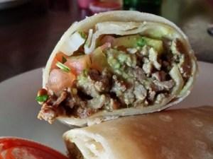 Los Rancheros Carne Asada Burrito
