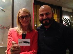 Francesca Barbi Marinetti e Francesco Bancheri, Lancio Spaziale presso Il Margutta Ristrorarte