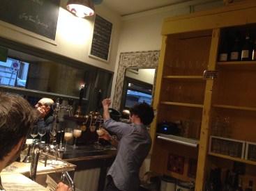 Bolla su Bolla- temporary champagne bar- Roscioli-roma-piazza di Montevecchio 17-wine bar