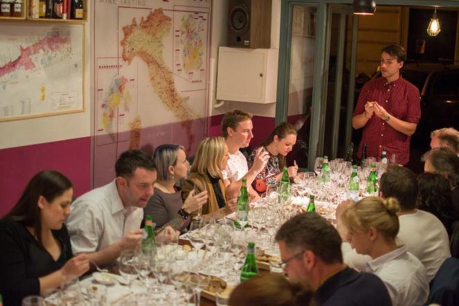 photocredits Aromicreativi-Bolla su Bolla- temporary champagne bar- Roscioli-roma-piazza di Montevecchio 17-wine bar