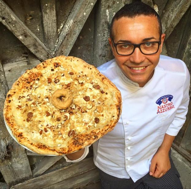 this is food 2016-officine farneto roma-Gino Sorbillo - Pizzeria Sorbillo. Sorbillo Lievito Madre. Zia Esterina