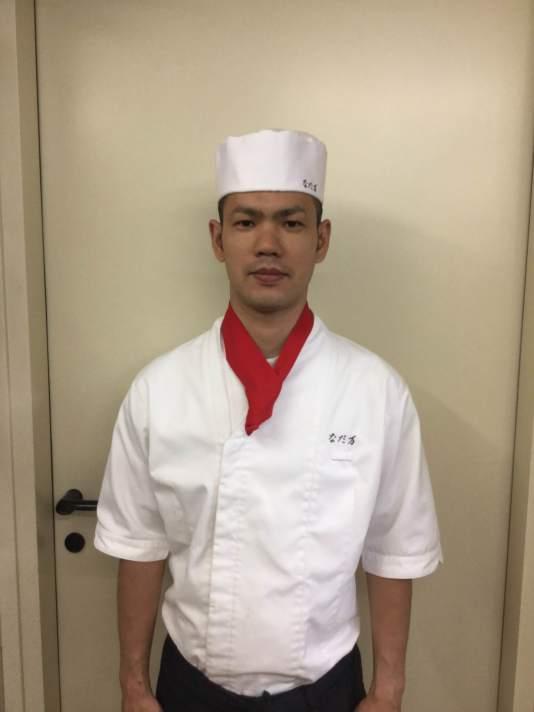 Lo chef Masatoshi Matsuda dell'ambasciatore del Giappone a roma