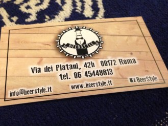 Beer Style-pub birreria a Roma-birre artigianali-cucina col barbecue di scuola statunitense -whisky scozzesi-
