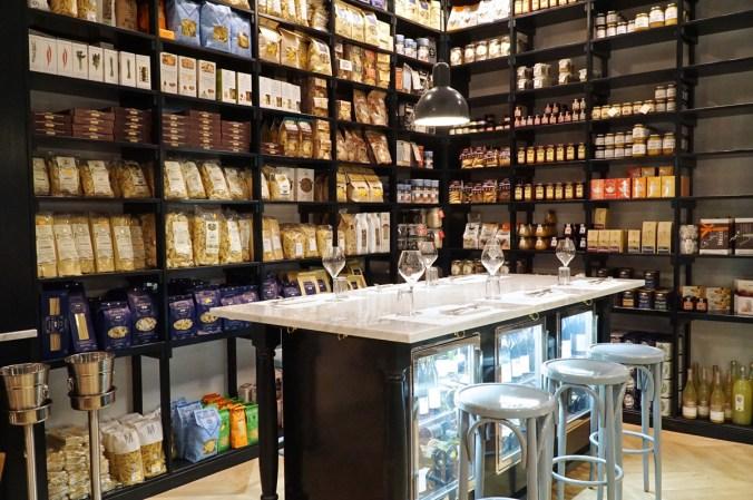 Ercoli in Prati- Roma-salsamenteria-via Montello -gastronomia con cucina -Charlie Bar – champagne cocktail bar-ristorante