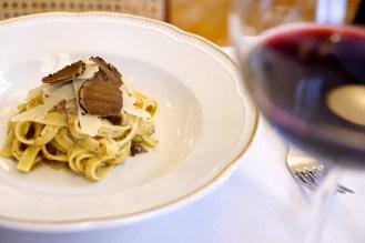 Fettuccina al tartufo da 'Gusto Roma