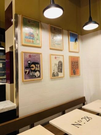La Pizzeria del nuovo 'Gusto a Roma, sala interna