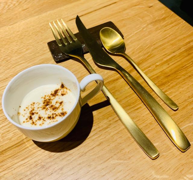 antipasto cappuccino salato ristorante Almatò Roma