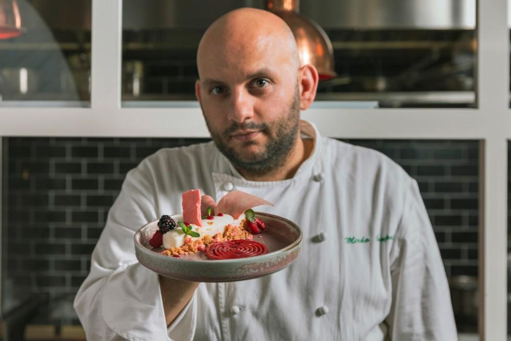 chef Mirko Campoli bistrot Maestro Roma